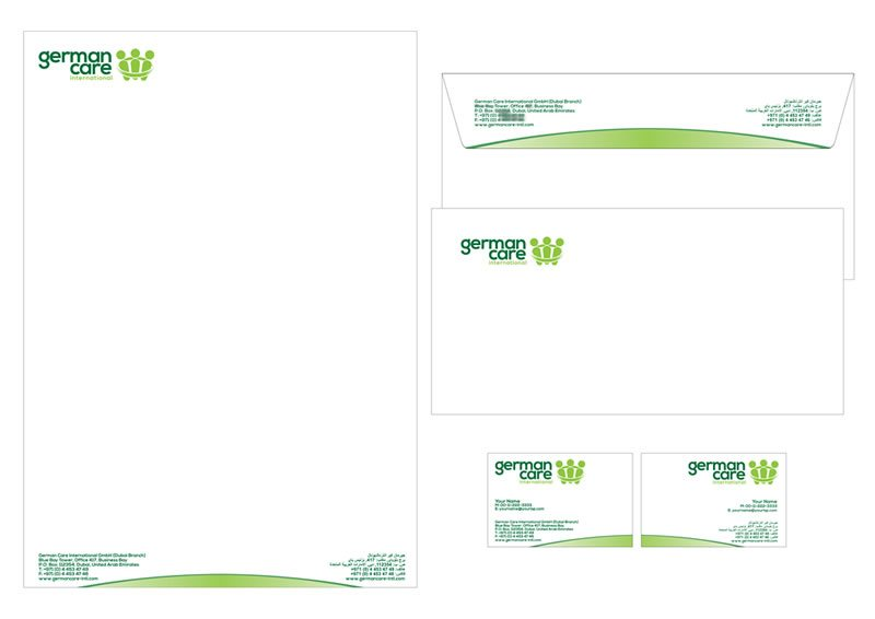 GCI 05 Stationery - German Care International