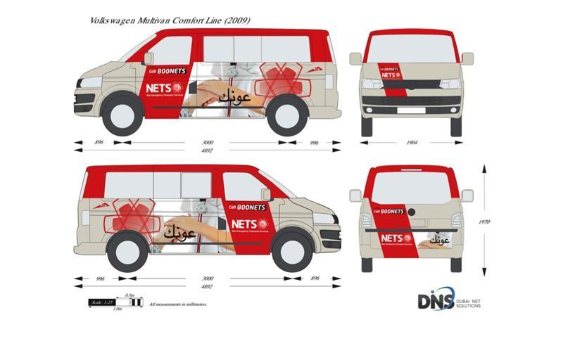 NETS Vehicle Branding - NETS